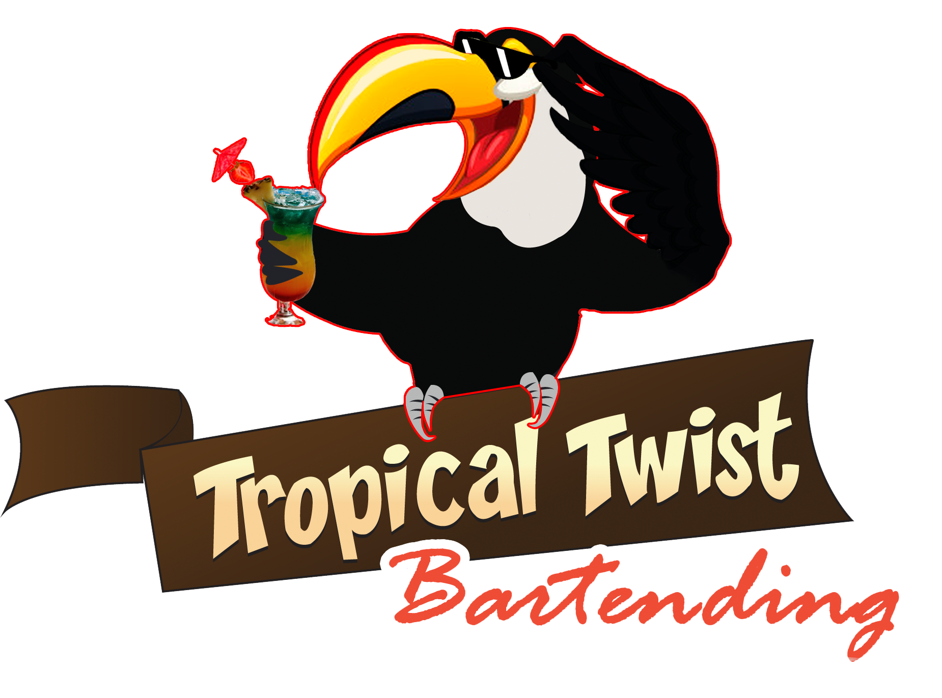Tropical Twist Bartending